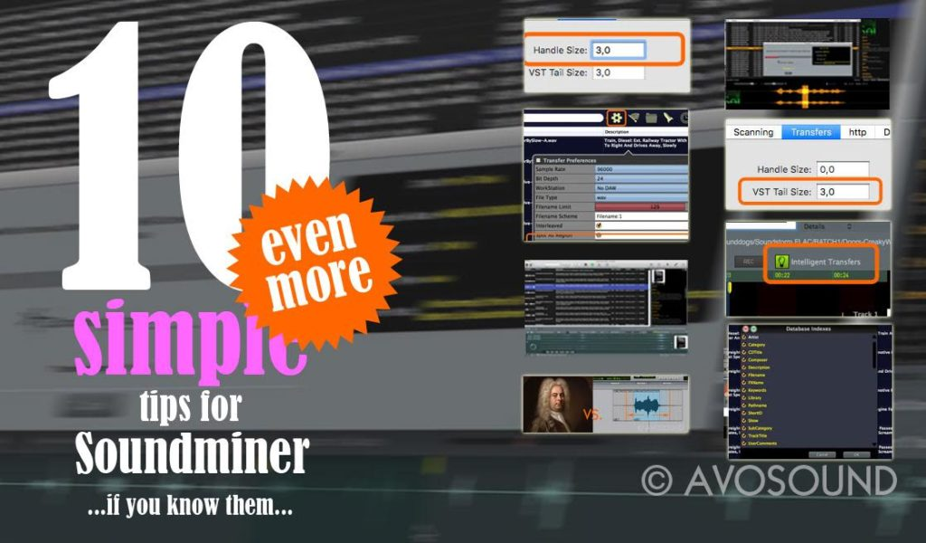10 even more simple tips for Soundminer... if you know them...