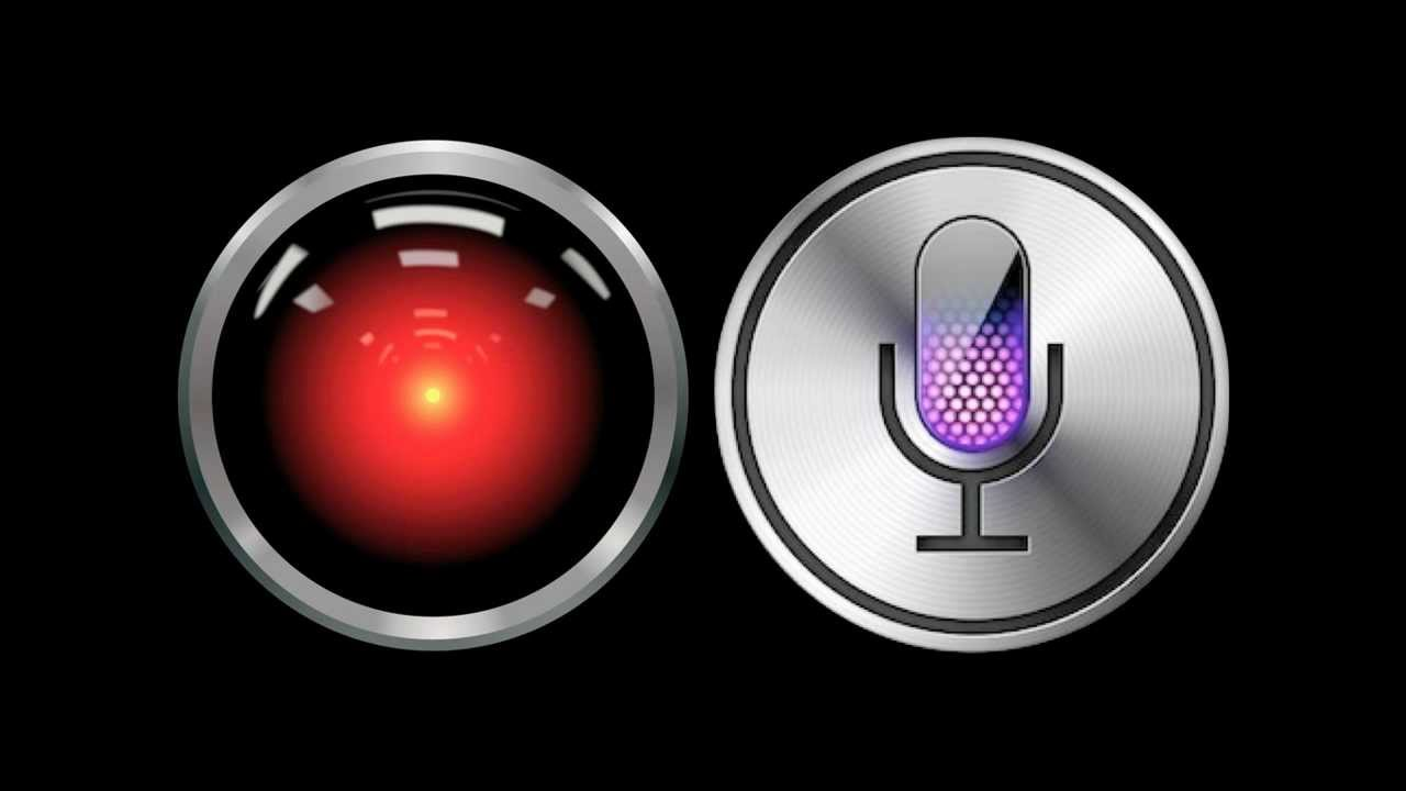 HAL 9000 and Siri