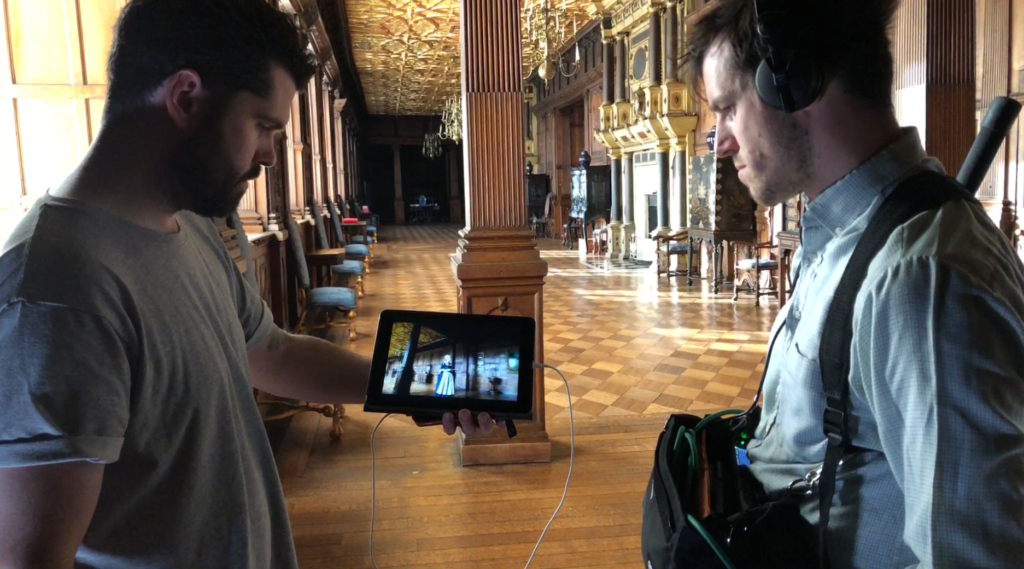 The Favourite - Brendan and Simon viewing action to recreate